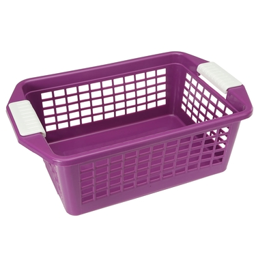 Medium Purple Flip-N-Stack Baskets by Dial