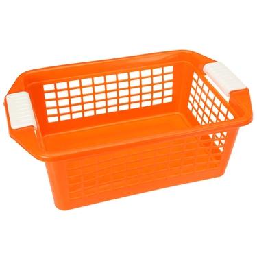 Medium Orange Flip-N-Stack Baskets by Dial