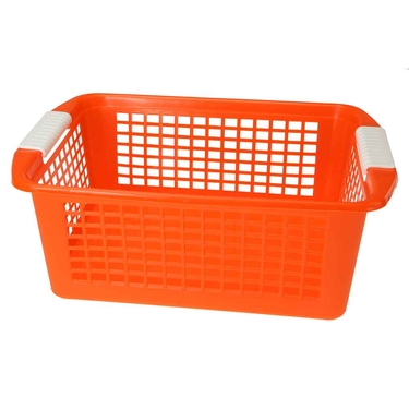 Large Orange Flip-N-Stack Baskets by Dial