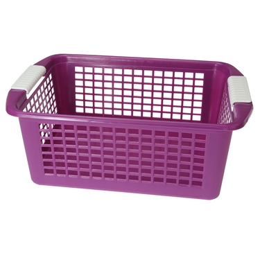 Large Purple Flip-N-Stack Baskets by Dial