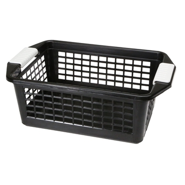 Medium Black Flip-N-Stack Baskets by Dial