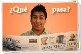 Spanish Lesson - Chef Tabasco has news!