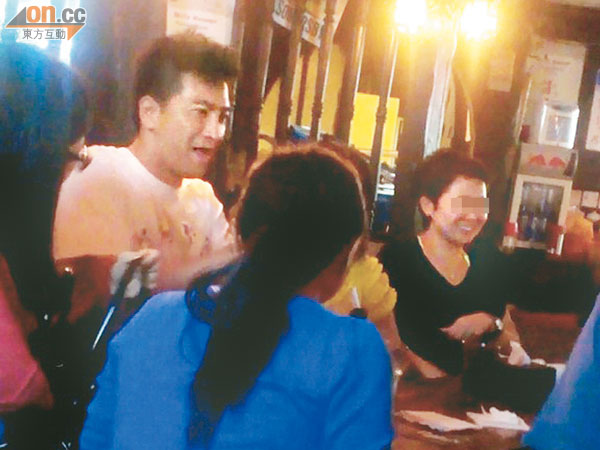 Kenneth Ma at the bar
