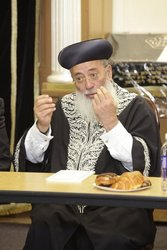 Israel's Sephardic Chief Rabbi Amar