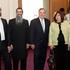 Left to Right: Ruth Shaina Benhiyoun, Mrs. Rivka Benhiyoun,The Honorable Mayor Richard M. Daley, Rabbi Meir Chai Benhiyoun, Eliyahu Benhiyoun. Picture Credits: Brooke Collins