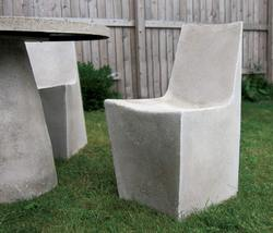 Stone Dining Chair & Hive Table