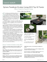 The Spring Issue: Outdoor Entertaining