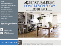 Architectural Digest Show March 2012
