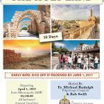 St. Raphael Holy Land Pilgrimage Registration Now Open