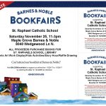 Barnes and Noble Book Fair Supporting Our School – November 25, 2017