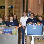 Students Collect Food Items for those in Need – Link to Channel 12