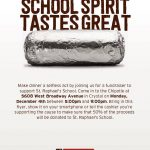 Chipotle Fundraiser – December 4, 2017