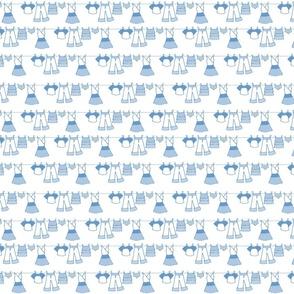 Clothesline (blue)