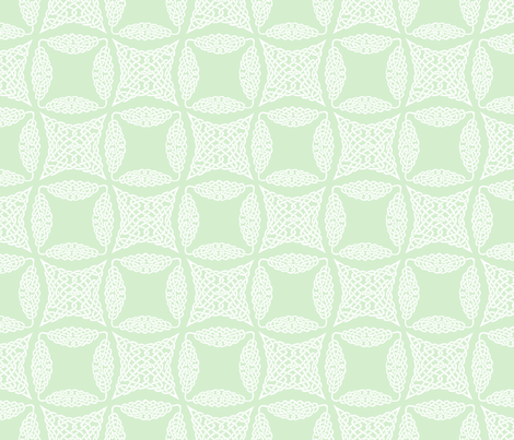 Knotwork fabric by leora_the_sane on Spoonflower - custom fabric