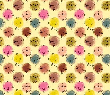 fluff2 fabric by freshtouch on Spoonflower - custom fabric