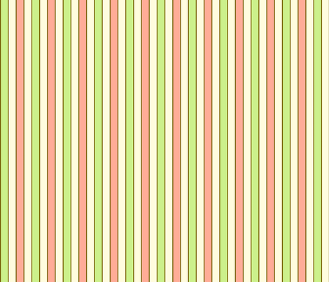 stripe (ice cream) fabric by mossbadger on Spoonflower - custom fabric