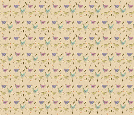 funny_birds_final_layout_spoonflower fabric by phatsheepfabrics on Spoonflower - custom fabric