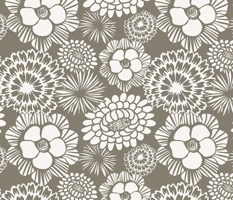 Festibloom fabric by heatherdutton on Spoonflower - custom fabric