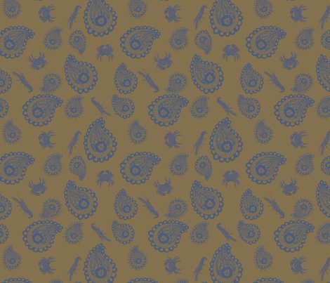 Rcrab-shrimp_fabric_shop_preview