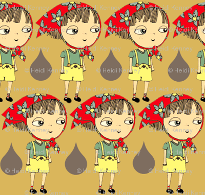 rain drop girl