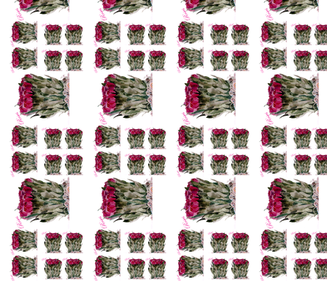 Roses Melody fabric by karenharveycox on Spoonflower - custom fabric