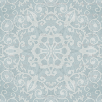 Shabby Blue Lace