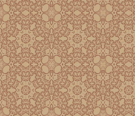 Shabby Peach fabric by dreamwhisper on Spoonflower - custom fabric