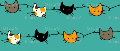Kitty Connections - Aqua