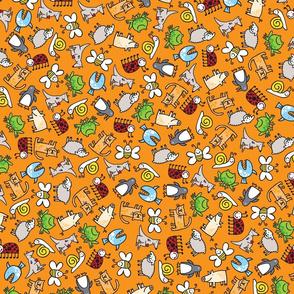 animal/orange