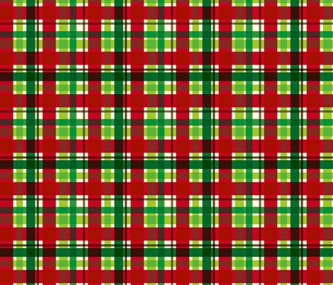 christmasplaid fabric by cottageindustrialist on Spoonflower - custom fabric