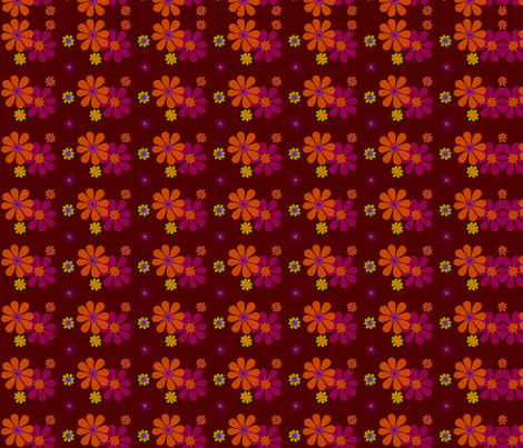brunblom fabric by snork on Spoonflower - custom fabric