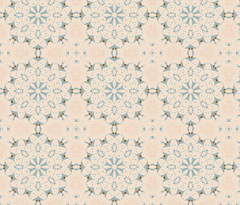 Floral Lace fabric by dreamwhisper on Spoonflower - custom fabric