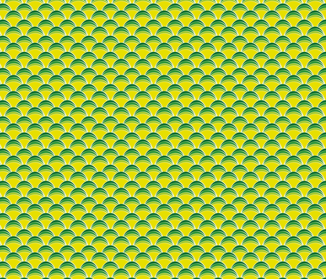 greenscallops fabric by cottageindustrialist on Spoonflower - custom fabric