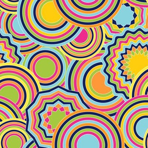 psychedelic circles