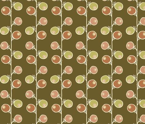 fruit fabric by troismiettes on Spoonflower - custom fabric