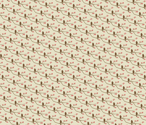 twigs fabric by troismiettes on Spoonflower - custom fabric