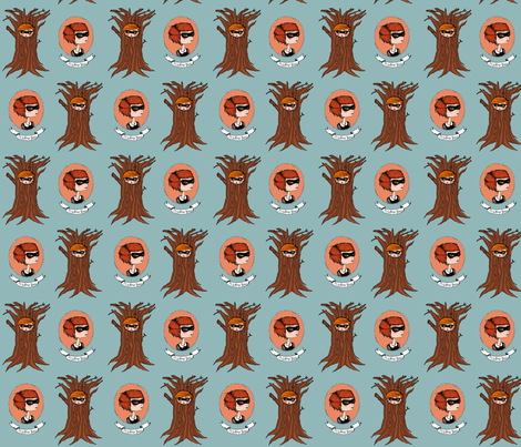 misstreegirl fabric by mysterygirl on Spoonflower - custom fabric