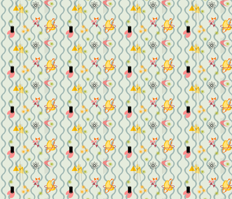 Swanky fabric by totallysevere on Spoonflower - custom fabric