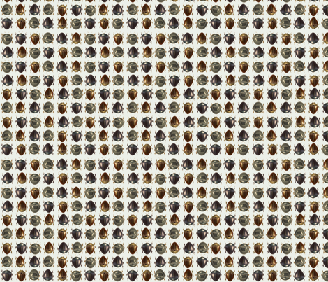Beetles_white fabric by mip666 on Spoonflower - custom fabric