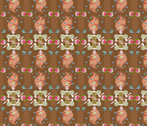 letthemeatcupcakebest1200 fabric by amarettogirl on Spoonflower - custom fabric