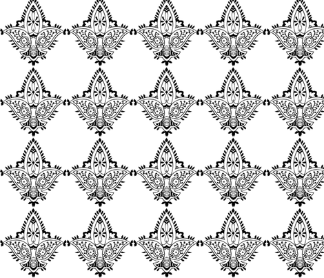 menhdi3 fabric by starchylde on Spoonflower - custom fabric