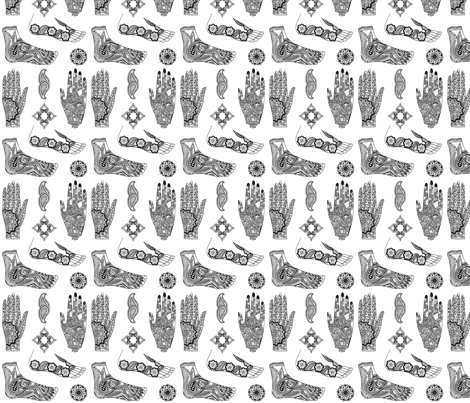 menhdi2 fabric by starchylde on Spoonflower - custom fabric