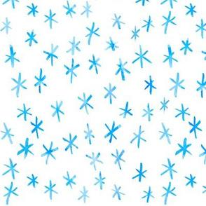 Watercolour Snowfall