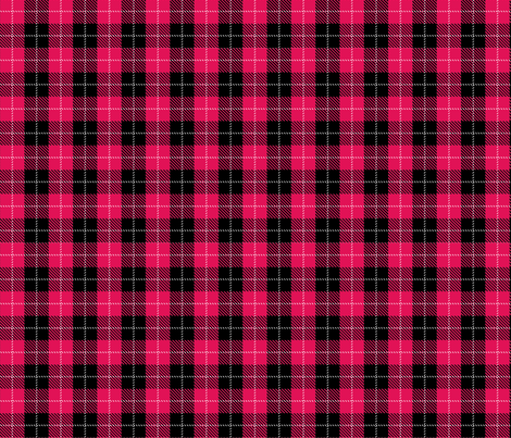 Red Plaid fabric by mysteek on Spoonflower - custom fabric