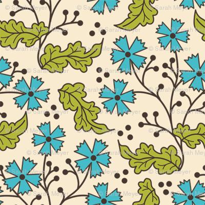 A Few of My Favorite Things, Floral Leaf - original