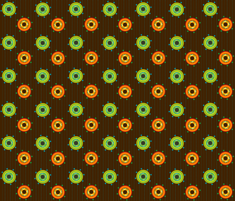 Pinstripe Holes fabric by royalforest on Spoonflower - custom fabric