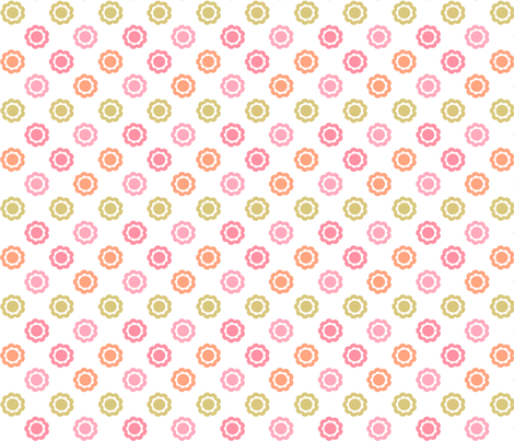 9petals fabric by ink on Spoonflower - custom fabric