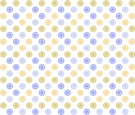 ninepetalCF2 fabric by ink on Spoonflower - custom fabric