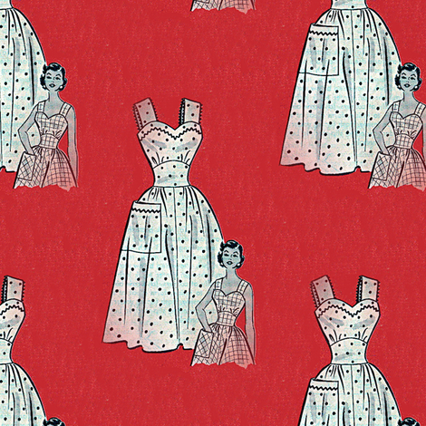 Sundress fabric by nalo_hopkinson on Spoonflower - custom fabric