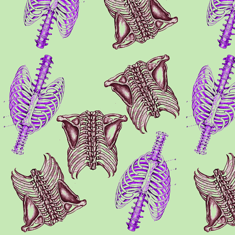 Bone Dance fabric by nalo_hopkinson on Spoonflower - custom fabric